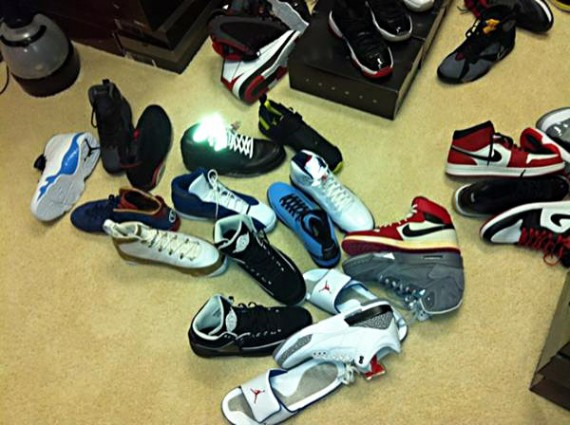 Quentin Richardson Shows Off His Air Jordan Collection & Sneaker Room