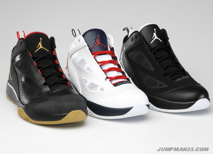 Air Jordan 2011 Q Flight: September 2011 Colorways