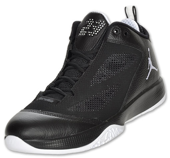 Air Jordan 2011 Q Flight: Black/White Available Now
