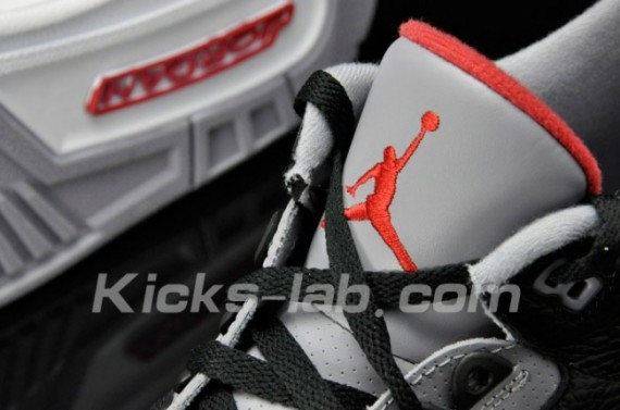 Air Jordan III Retro 2011: Black Cement   New Images