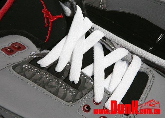 Air Jordan III Retro GS: Stealth   New Images