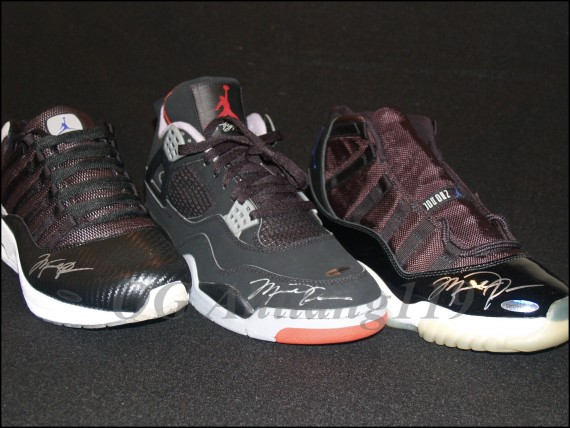 Autographed Air Jordan Collection