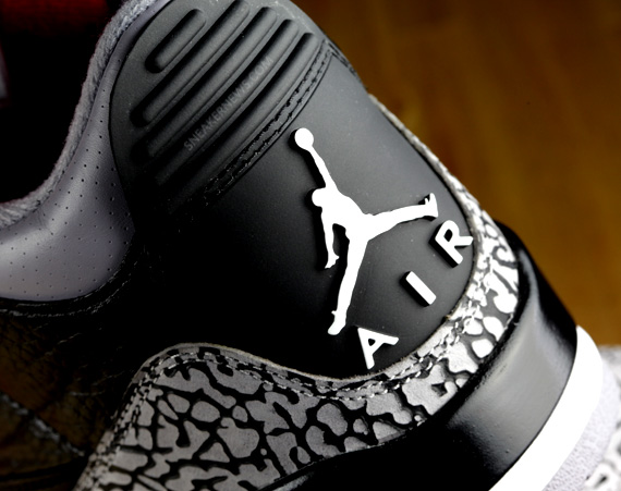 Air Jordan III: Black/Cement   Detailed Gallery