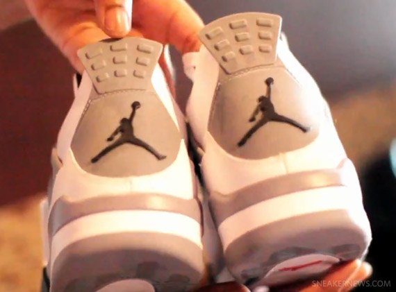 Air Jordan IV: White Cement   Video Review