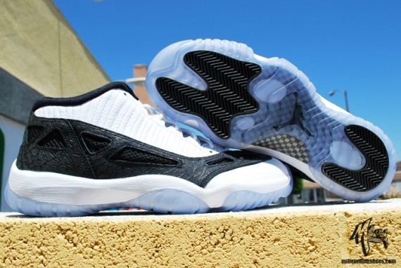 Air Jordan XI IE Low: White/Black   Releasing This Weekend