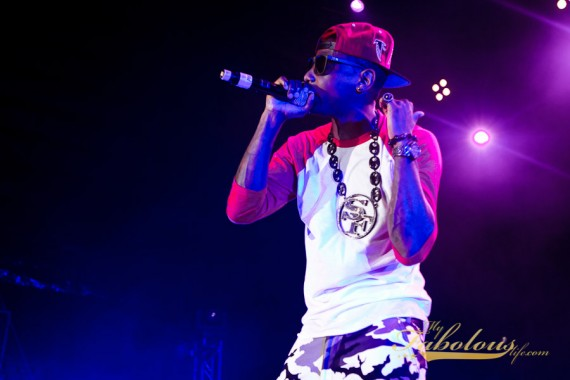 Fabolous Wearing Air Jordan XIII White   Black   Varsity Red