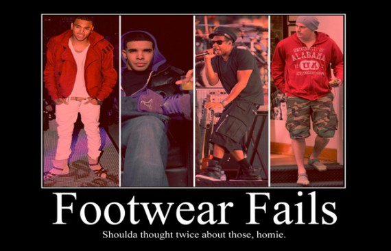 Celebrity Air Jordan Footwear Fails