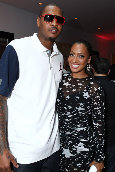 Carmelo Anthony @ La Las Full Court Life Premiere Party