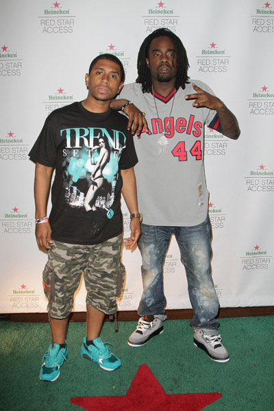 Wale Wearing Air Jordan III Stealth