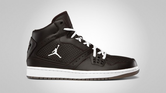 Jordan 1 Flight: Brown / White