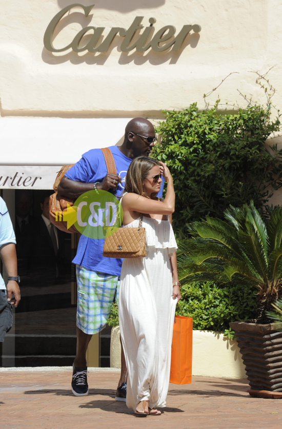 Michael Jordan Spotted in Italy