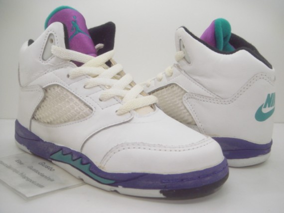 Sky Jordan V: Grape GS Original