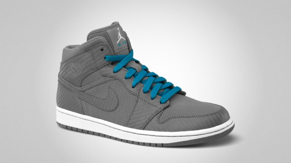 Air Jordan 1 Phat Mid: Cool Grey   Available