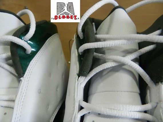 Air Jordan XIII Cleat: Ahman Green   Green Bay Packers PE