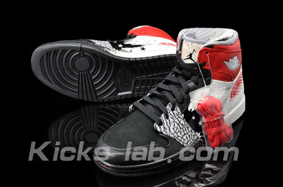 Air Jordan 1 Dave White: New Images