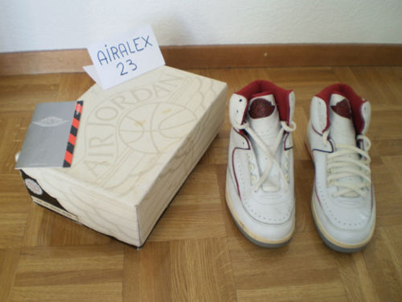 Air Jordan II: OG 1986 White Red