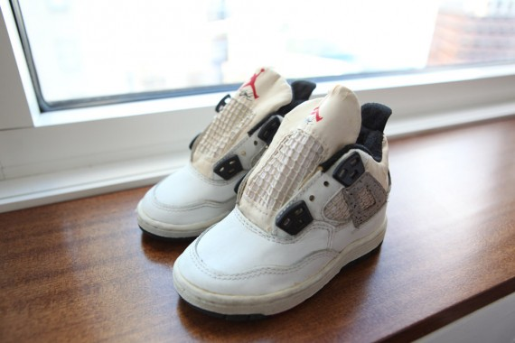 Air Jordan IV Toddler: OG White Cement