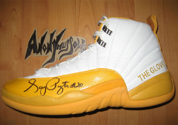 Air Jordan XII: Gary Payton Game Worn PE