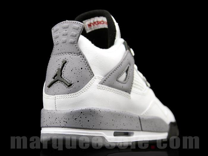 White Cement Air Jordan 4 GS - 2012 Retro - Air Jordans, Release Dates &  More | JordansDaily.com