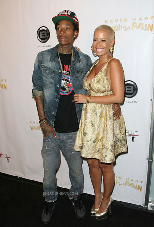 Wiz Khalifa Wears Air Jordan VII CDP