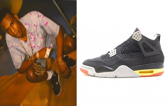 Throwback Photos of Celebrities Wearing Air Jordans