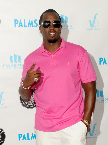 Diddy Wears Air Jordan V Black   Metallic Silver