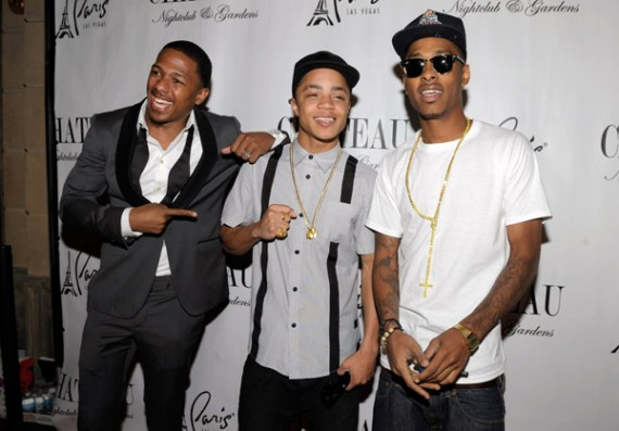 New Boyz Wears Air Jordan III Stealth @ Chateau Nightclub & Gardens