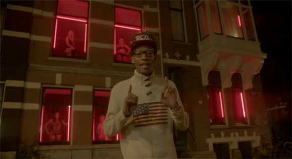 Wiz Khalifa Wears Air Jordan III Black Cement in T Pain 5 OClock Music Video
