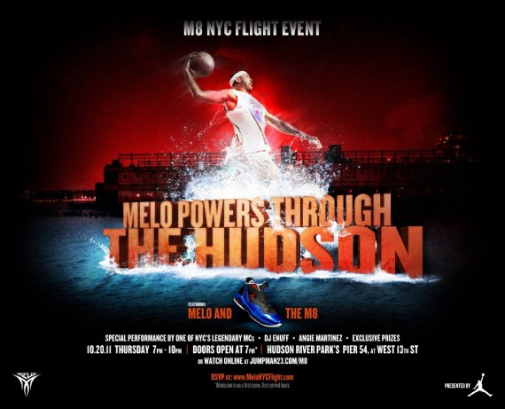 Carmelo Anthony & Jordan Brand Presents Melo M8 Flight Event