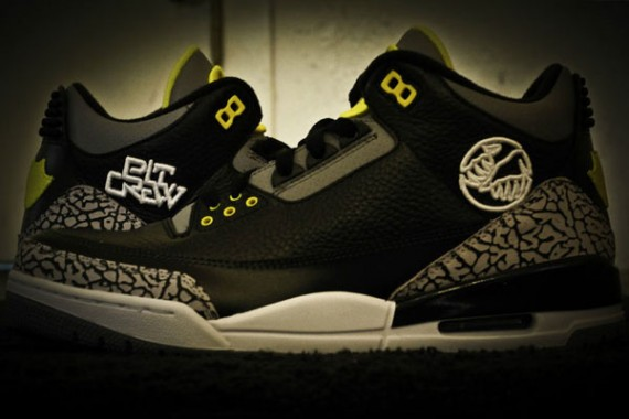 Air Jordan III: Oregon Pit Crew on eBay