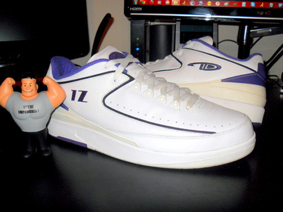 Air Jordan II Low: Mike Bibby PE