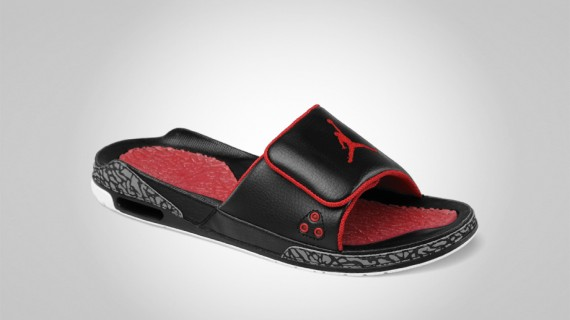 Air Jordan III Slide: Black Cement