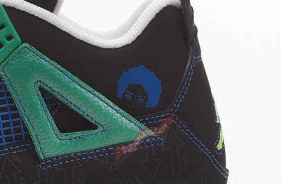 Air Jordan IV: Doernbecher Freestyle 2011 by Isaiah Scott   Detailed Look