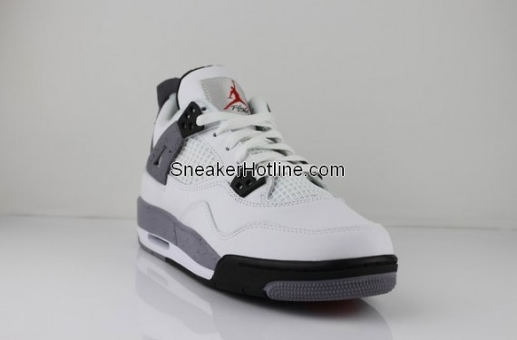 Air Jordan IV GS: White Cement   Another Look