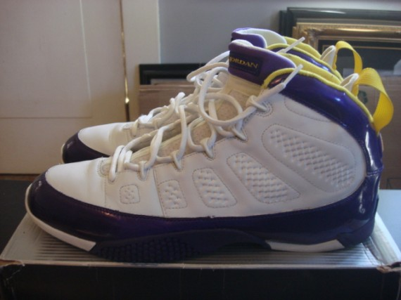 Air Jordan IX Turf Trainer: Randy Moss PE