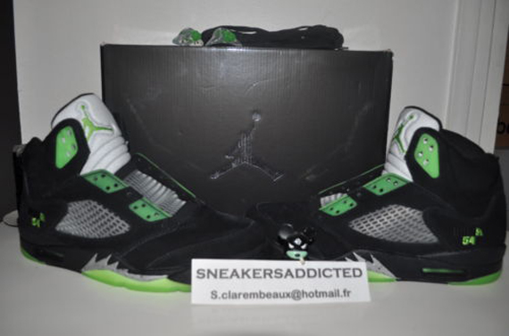 Air Jordan V: Black Quai 54   Friends & Family On eBay