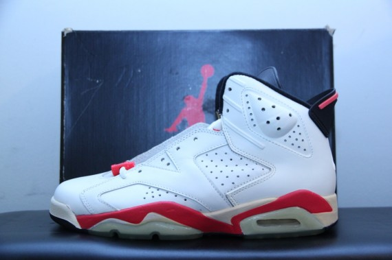 Air Jordan VI: 1991 White Infrared