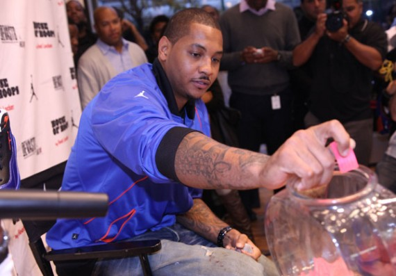 Carmelo Anthony Presents the Jordan Melo M8 At House of Hoops New York