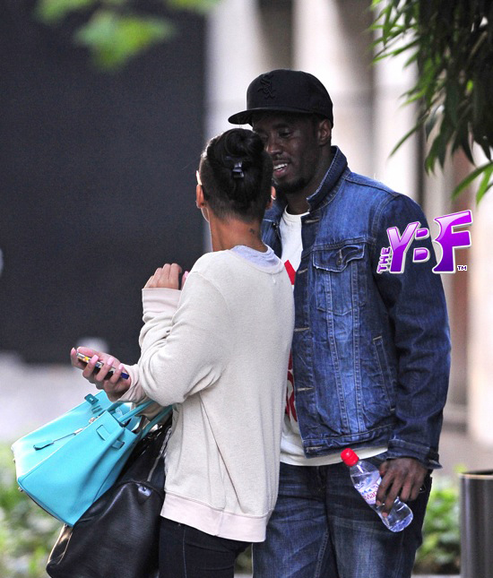 Diddy Wearing Jordan Six Rings Carbon Fiber