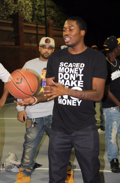 Meek Mill Wears Air Jordan III Black Cement in House Party Video Shoot