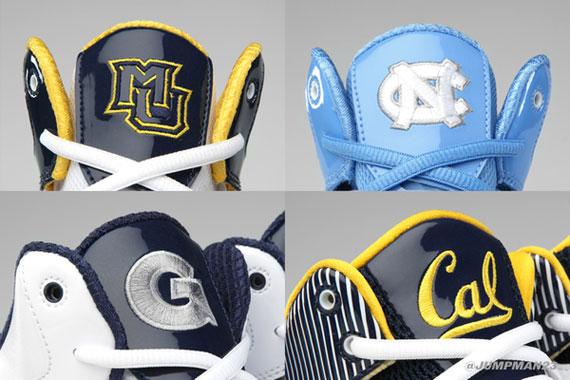Jordan Brand 2011 12 College Team Teaser