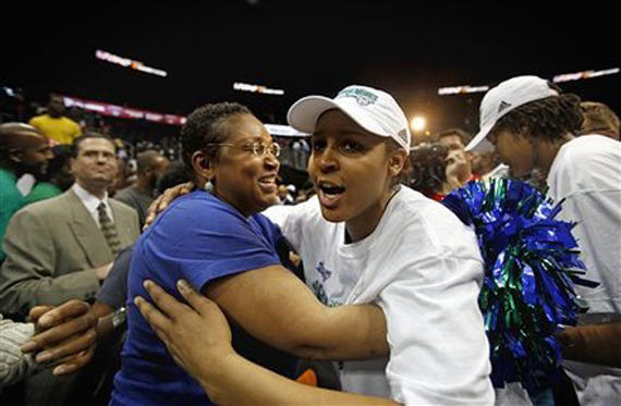 Maya Moore Wins First WNBA Championship