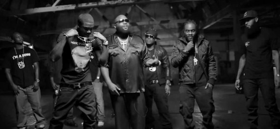 Air Jordans in Maybach Music Group Cypher