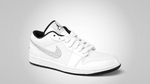 air jordan 1 low cut white tennis