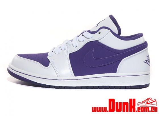 Latest Jordan 1 Low White Purple