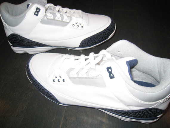 Air Jordan III: Dre Bly PE Cleat