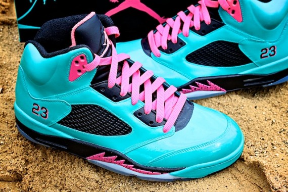 Air Jordan V: South Beach Custom