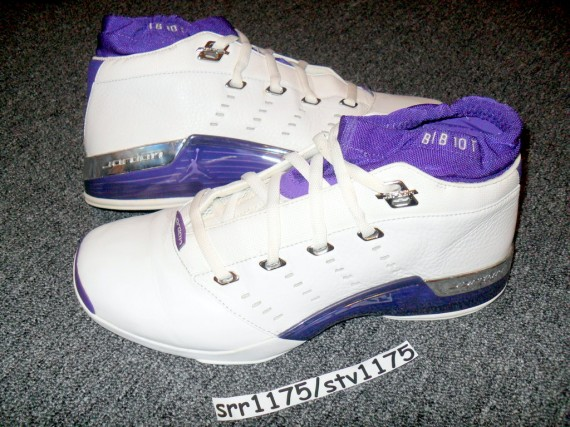Air Jordan XVII Low: Mike Bibby Player Exclusive