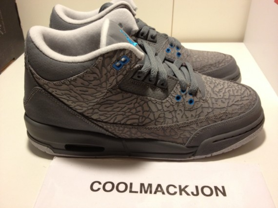 Following the release of the Air Jordan III  Black Cement  fcaac0ff29