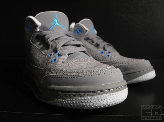 Air Jordan 3 GS: Grey Flip   Another Look
